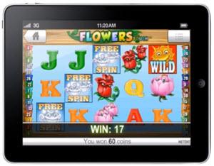 flowers ipad casino